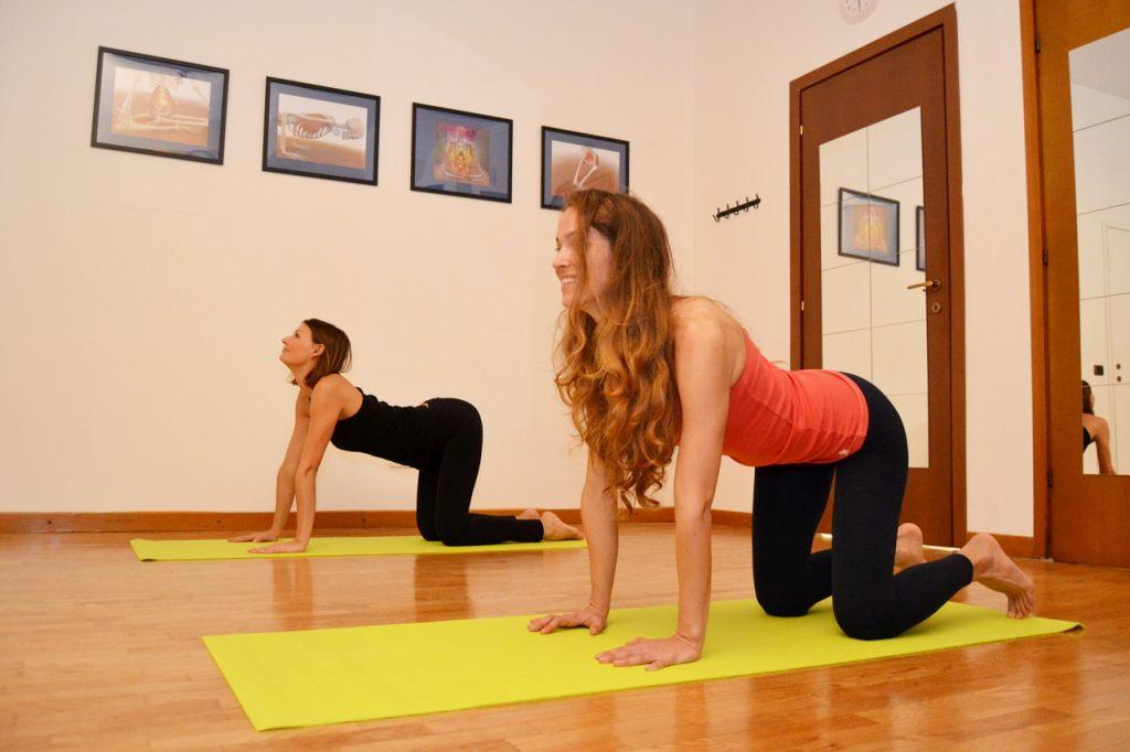 yoga dolori muscolari